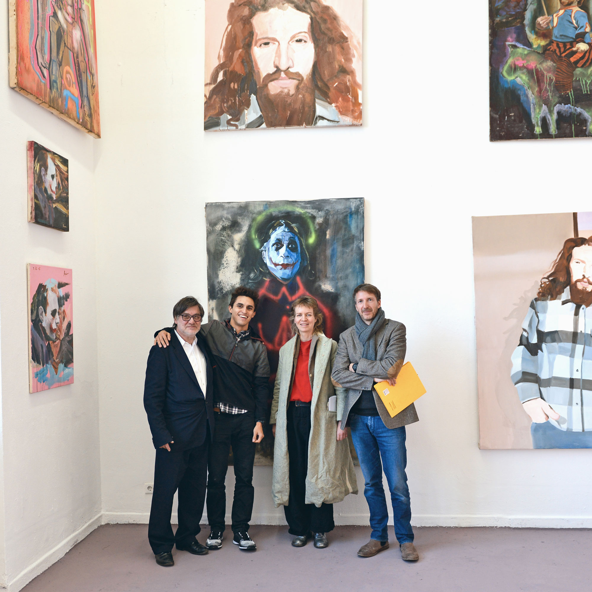 Degree at the Art Academy Düsseldorf. Prof. Anzinger, Rayher, Prof. Krosse and Prof. Reuter