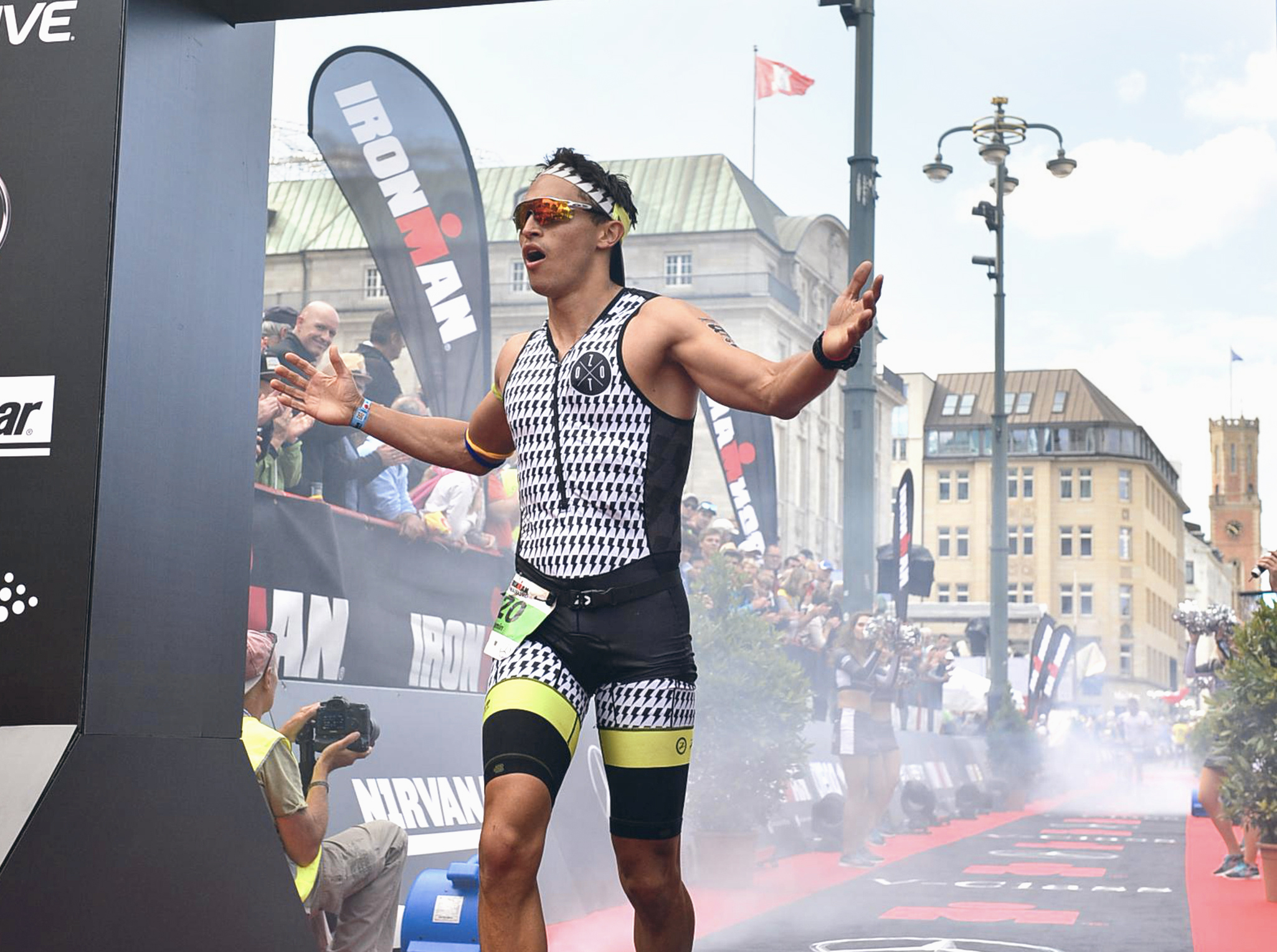 2017 - Finishing on 24th place of the agegroup athletes at the Ironman Hamburg